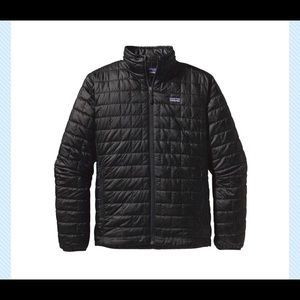 Patagonia Nano Puff 84212 Black Jacket XXL Nwot